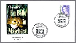 GIUSEPPE VERDI - Opera UN BALLO IN MASCHERA. Milano 2013 - Musique