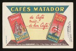 Buvard - CAFE MATADOR - Café & Thé