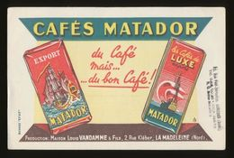 Buvard - CAFE MATADOR - Coffee & Tea