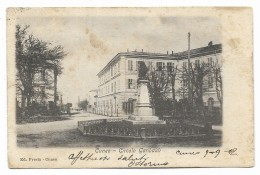 CUNEO CIRCOLO GARIBALDI 1902 VIAGGIATA FP - Cuneo