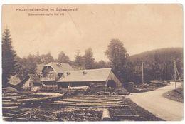 Cpa Allemagne - Holzschneidenmühle Im Schwarzwald  ( Bois, Scierie ) - Allemagne