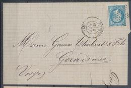 Cover France Napoleon Used Lot#4 - 1853-1860 Napoleon III