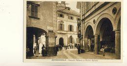DOMODOSSOLA -- PALAZZO  MELLERIO  E  PORTICI  GALLETTI - Altre Città