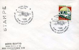 23487 Italia, Special Postmark Pescara 1998 80th Anniversary Flight Of Gabriele D'annunzio Over Vienna, Circuled Cover - Flugzeuge