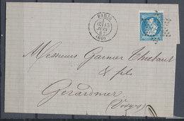 Cover France Napoleon Used Lot#8 - 1853-1860 Napoleon III