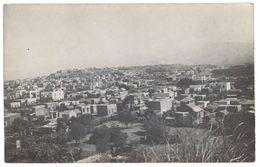 Cpa Carte-photo, Ville D'Afrique à Identifier ( AFR ) - Cartes Postales