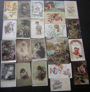 Joli Lot De 23 Cartes, Fantaisies, Anniversaires, Fêtes Etc.. Voir Photos Pour Le Détail ! - 5 - 99 Cartes