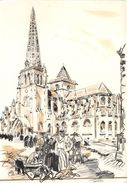 ¤¤  -    104  -  MATHURIN MEHEUT   -  La Cathédrale De TREGUIER  -  ¤¤ - Meheut