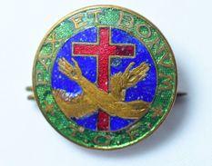Distintivo T.O.F. Pax Et Bonum, Smaltato - Lot. 116 - Italia