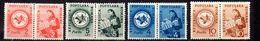 RUMANIA. AÑO 1950.  TAXE Yv 113/116 (MH) - Impuestos