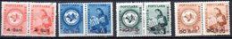 RUMANIA. AÑO 1950.  TAXE Yv 117/120 (MH) - Impuestos