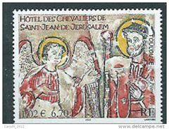 Timbre FRANCE-2001-N°3385** SAINT JEAN DE JERUSALEM A TOULOUSE Neuf - France
