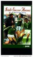 IRELAND/EIRE - 2002  IRISH SOCCER   BOOKLET   FINE  USED  FDI CANCEL - Libretti