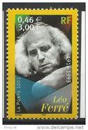 Timbre FRANCE - N°YT 3392 NEUF** - 2001 Léo Ferré - France