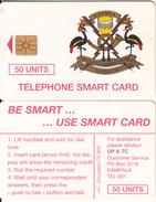 UGANDA - Telecom Logo 50 Units, Tirage %75000, Chip GEM1.1, Used - Uganda
