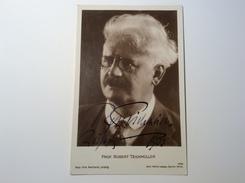 Prof. Robert Teichmüller (1863-1939) German Concert Pianist  Autograph Signed Picture  (Autogramm Music Musik - Autogramme & Autographen