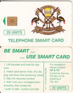 UGANDA - Telecom Logo 20 Units, Tirage %50000, Chip GEM3.1, Used - Uganda