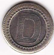 JETON 10 Centimes  à Consommer D  Jeu De Comptoir , Machine à Sous ,necessité  2 Scans - Monétaires / De Nécessité