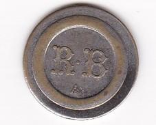 JETON 30 Centimes  à Consommer R B   Jeu De Comptoir , Machine à Sous ,necessité  2 Scans - Monétaires / De Nécessité