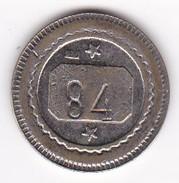 JETON 20 Centimes  à Consommer 84  Jeu De Comptoir , Machine à Sous ,necessité  2 Scans - Monétaires / De Nécessité