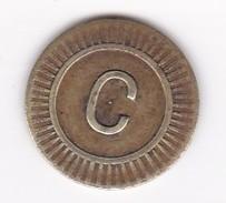 JETON 20 Centimes  à Consommer C Jeu De Comptoir , Machine à Sous ,necessité  2 Scans - Monétaires / De Nécessité