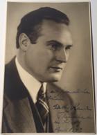 Günther Ramin (1898-1956) German Organist (Leipzig) Autograph Signed Picture Of 1942  (Autogramm Music Musik Briefmarke - Autogramme & Autographen