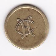 JETON 10 Centimes  à Consommer  H C  Jeu De Comptoir , Machine à Sous ,necessité  2 Scans - Monétaires / De Nécessité