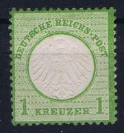 Deutsches Reich Mi Nr 7 Not Used (*) SG - Neufs