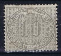 Deutsches Reich: Mi Nr 12 MH/* Falz/ Charniere - Germania