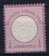 Deutsches Reich: Mi Nr 16 Postfrisch/neuf Sans Charniere /MNH/**  Grossem Brustschild 1872 - Deutschland