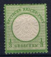Deutsches Reich: Mi Nr 17B MH/* Falz/ Charniere  Grossem Brustschild 1872 - Ungebraucht