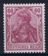 Deutsches Reich: Mi Nr 92 I MH/* Falz/ Charniere    Fr Dr - Ungebraucht