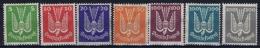 Deutsches Reich: Mi Nr 344 - 350 MH/* Falz/ Charniere  1920 - Airmail