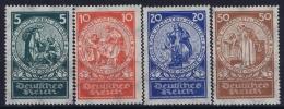Deutsches Reich: Mi Nr 351 - 354 Postfrisch/neuf Sans Charniere /MNH/**  Nr 351 Is MH/* 1924 - Deutschland
