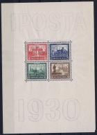 Deutsches Reich: Mi Nr Block Nr 1 IPOSTA 1930  446 - 449 - Blocks & Kleinbögen