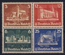 Deutsches Reich: Mi Nr 576 - 579  OSTROPA    1935 Postfrisch/neuf Sans Charniere /MNH/** - Duitsland