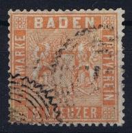 Deutsches Reich: Baden Mi Nr 11 Obl./Gestempelt/used   1860 - Baden