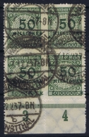 Deutsches Reich:  Mi Nr 321 BO OR   Obl./Gestempelt/used   1923 Signed/ Signé/signiert 2* - Gebraucht