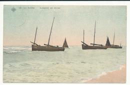 Le Panne, Barques De Pèche - De Panne