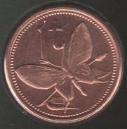 PAPUA NEW GUINEA 1 Toea 2004 Birdwing Butterfly PAPILLON KM# 1 - Papoea-Nieuw-Guinea
