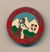Badge (fixation épingle) - Vélo Club D'ANNECY - Circuit Des Aravis (Cyclotourisme) - Cycling