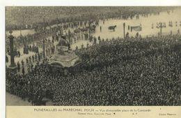 CPA  ( 75)  FUNERAILLES DU MARECHAL FOCH Vue D Ensemble Place De La Concorde  (b.bur) - France