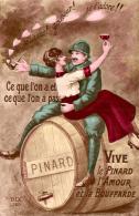 VIVE LE PINARD , Militaire , 3 Cpa - Guerre 1914-18