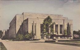 Indiana Bloomington Auditorium Indiana University Handcolored Albertype - Bloomington