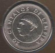 HONDURAS 20 CENTAVOS DE LEMPIRA 2007 KM# 83a - Honduras