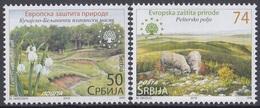 SERBIA 669-670,unused - Umweltschutz Und Klima
