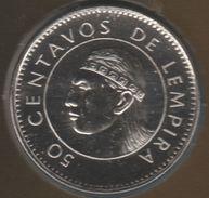 HONDURAS 50 CENTAVOS DE LEMPIRA 2005 KM# 84a - Honduras