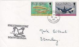 South Georgia & Sandwich Isles: King Edward Point To Stanley, 10 January 1997 - Tristan Da Cunha