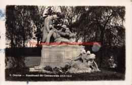 Standbeeld Der Gesneuvelde 1914-1918 - Deurne - Antwerpen