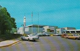 Huntsville Alabama, Space & Rocket Center, Apollo Program And Moon Exhibits, C1960s Vintage Postcard - Huntsville
